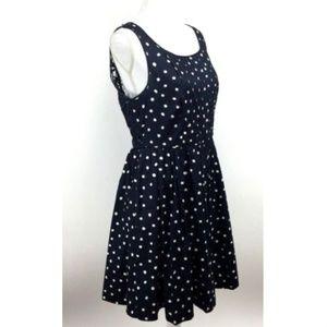 Moulinette Soeurs Sz 10 Navy Polka Dot Lucy Dress*